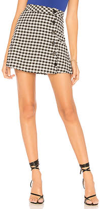 by the way. Meadow Button Up Skirt