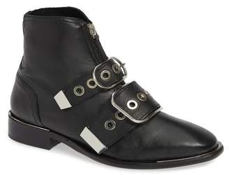 Topshop Alex Front Zip Ankle Boots