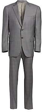 Canali Men's Glen Plaid Wool Suit