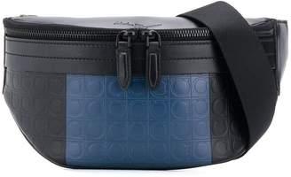 Salvatore Ferragamo embossed Gancio belt bag