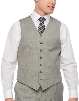 STAFFORD Stafford Checked Classic Fit Suit Vest