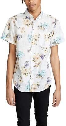 Naked & Famous Denim Easy Shirt - Flowers Painting