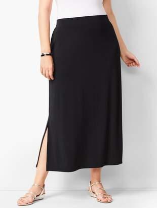 65f401908b Talbots Plus-Size Knit Jersey Maxi Skirt