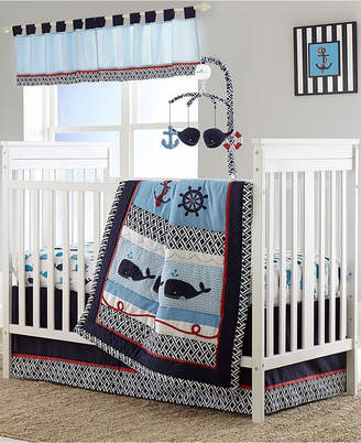 Nautica Whale of a Tale 4 Piece Crib Bedding Set Bedding