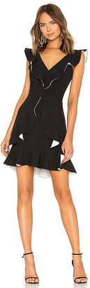 Aijek Verona Ruffled Dress