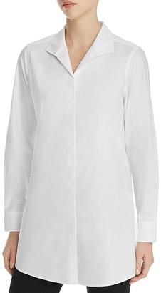Foxcroft Shaped Tunic Shirt $89 thestylecure.com