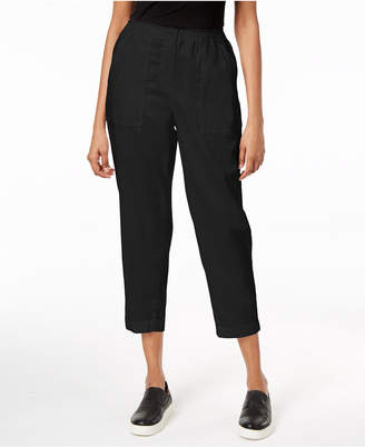 Eileen Fisher Organic Cotton Capri Pants
