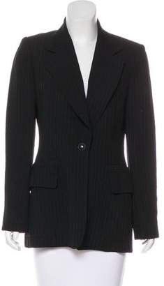 Hermes Striped Wool Blazer