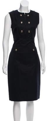 Saint Laurent Sleeveless Sheath Dress