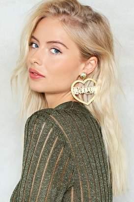 Nasty Gal Baby Girl Earrings