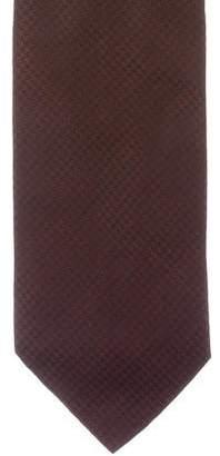 Armani Collezioni Silk Patterned Tie