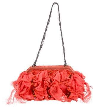 Jamin Puech Embellished Woven Bag