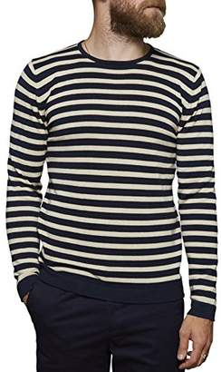 Blue White Striped Sweater Men Shopstyle Uk