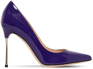 Sergio Rossi 105MM GODIVA PATENT LEATHER PUMPS