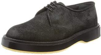 Adieu [アデュー レースアップ 54C WAXED SUEDE 54C Black(Black/43)