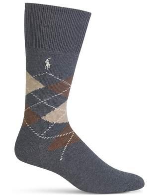 Polo Ralph Lauren Argyle Dress Socks $14 thestylecure.com