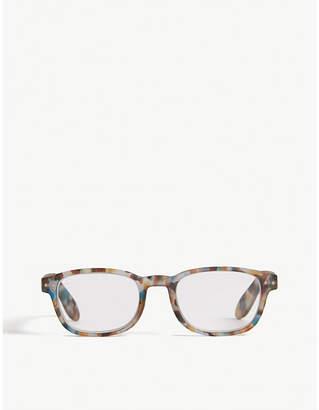 da9bc4fe1f Izipizi  B Reading rectangle-frame glasses +3