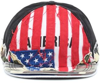 Vetements x Reebok embroidered baseball cap