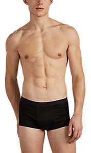 Zimmerli Men's Sea Island Cotton Boxer Briefs - Black