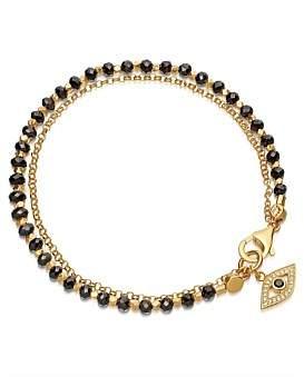 Astley Clarke Black Spinel Evil Eye Biography Bracelet