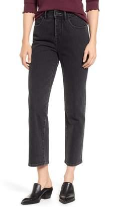 Treasure & Bond Stovepipe Straight Leg Jeans