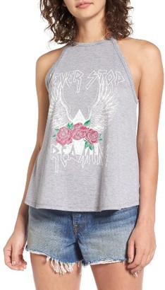 Women's Sun & Shadow Graphic Tank $29 thestylecure.com