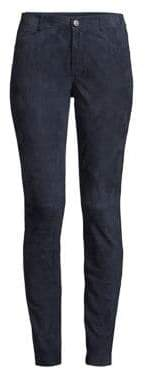 Lafayette 148 New York Suede Front Jeans