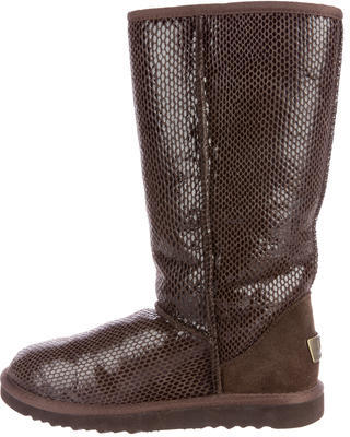 UGGUGG Australia Classic Tall Embossed Boots