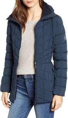 Bernardo Packable PrimaLoft(R) Coat