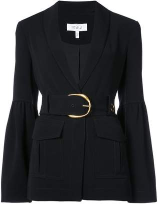 Derek Lam 10 Crosby Shawl Collar Blazer With Belt