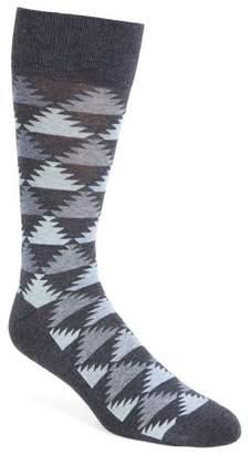 Nordstrom Pyramid Motif Socks