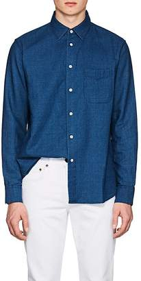 Rag & Bone Men's Standard Issue Cotton Chambray Beach Shirt