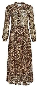 Sea Women's Lottie Leopard Button-Down Dress