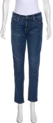 Frame LE Garcon Mid-Rise Jeans