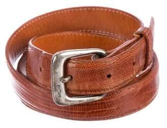 Ralph Lauren Skinny Lizard Belt