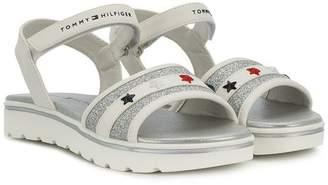 Tommy Hilfiger Junior star embellished sandals