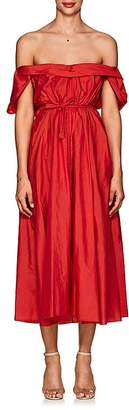 Women's Davi Tech-Taffeta Off-The-Shoulder Dress