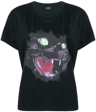 Marcelo Burlon County of Milan cat face T-shirt