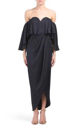 Australia Designed Bustier Frill Dress
