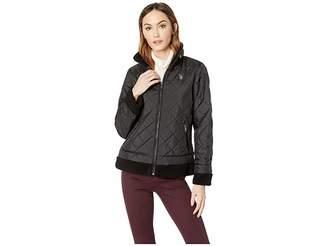 U.S. Polo Assn. Moto Puffer Women's Coat