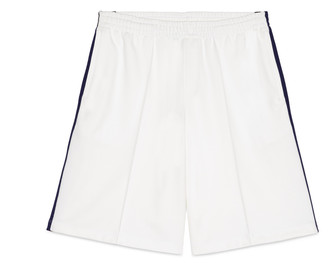 Jersey short with Web $540 thestylecure.com