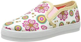 Desigual Girls' Canvas Roller Low-Top Slippers,13 Child UK 31 EU