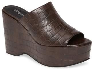 Jeffrey Campbell Morenna Platform Wedge Sandal (Women)