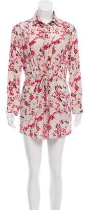 Thakoon Floral Printed Silk Dress