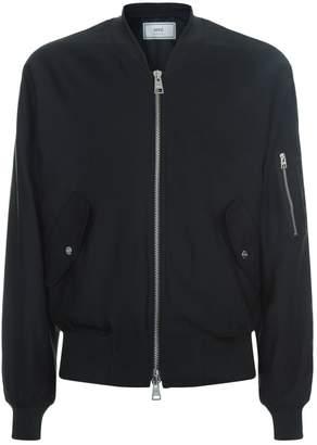 Ami Paris Elasticated Waist Bomber Jacket