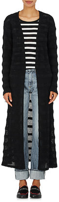 The Elder Statesman Women's Dobby-Striped Cashmere Cardigan $1,080 thestylecure.com