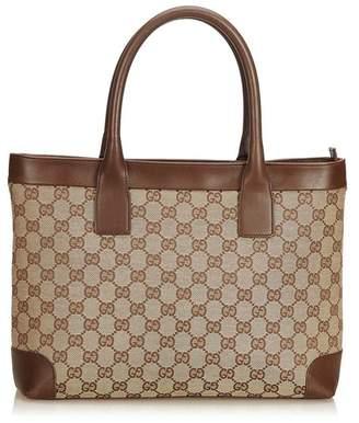 127b48f1c42f at Orchard Mile · Gucci Vintage Guccissima Canvas Tote Bag