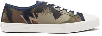 Valentino Camouart Low Top Trainers - Mens - Khaki