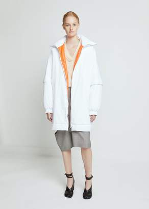 Maison Margiela Water Repellent Nylon Coat with Contrast Lining