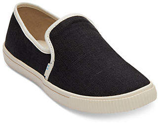 Toms Clemente Slip-On Canvas Sneakers